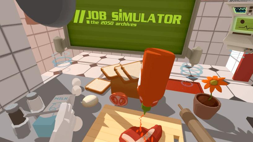 Job Simulator - Hot Sauce