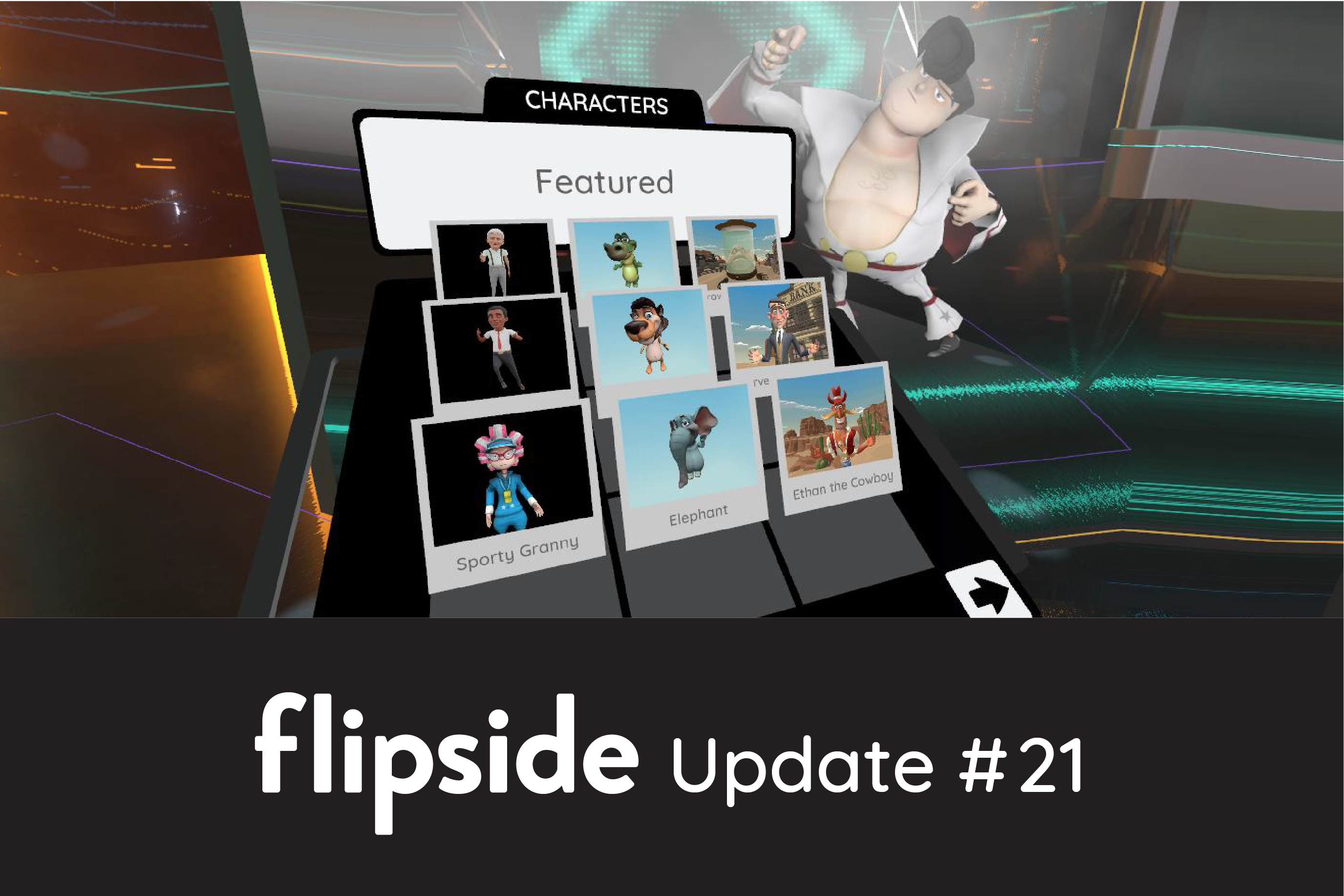 Flipside Update #21 - Faster character loading and multiplayer fixes