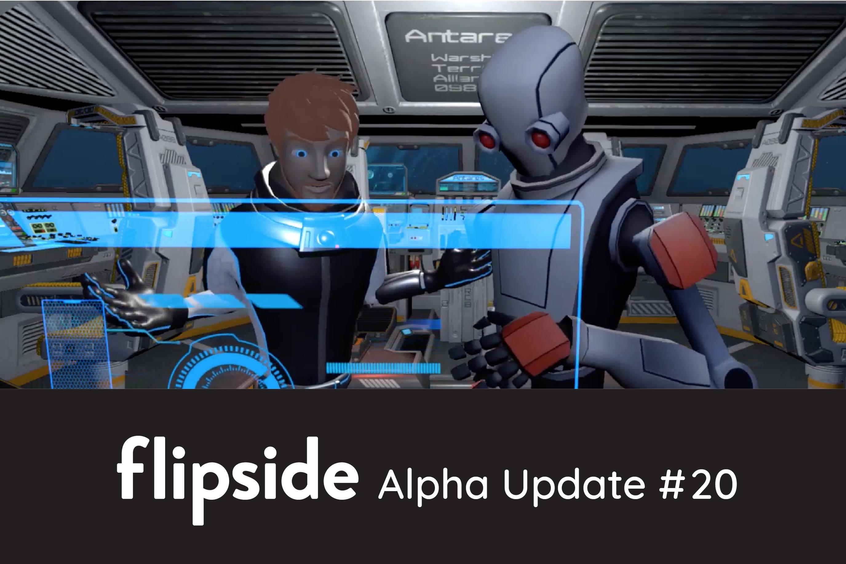 Flipside Studio Update #20 - Flipside goes MULTIPLAYER!!!!!