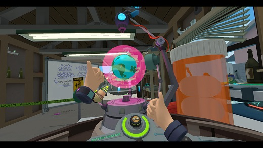 Rick and Morty: Virtual Rick-ality - Microverse Machine