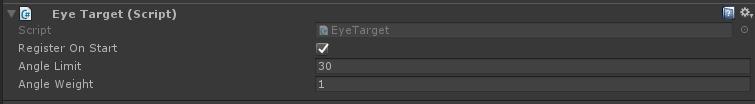 EyeTarget component
