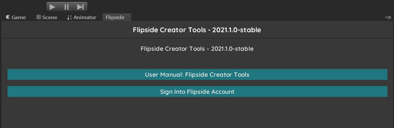 Flipside Creator Tools - Sign Into Flipside Account