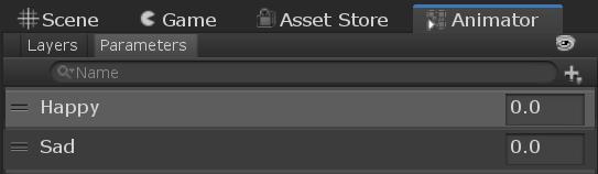 Animation parameters