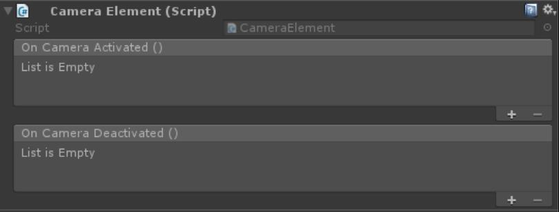 CameraElement component