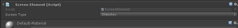 ScreenElement component