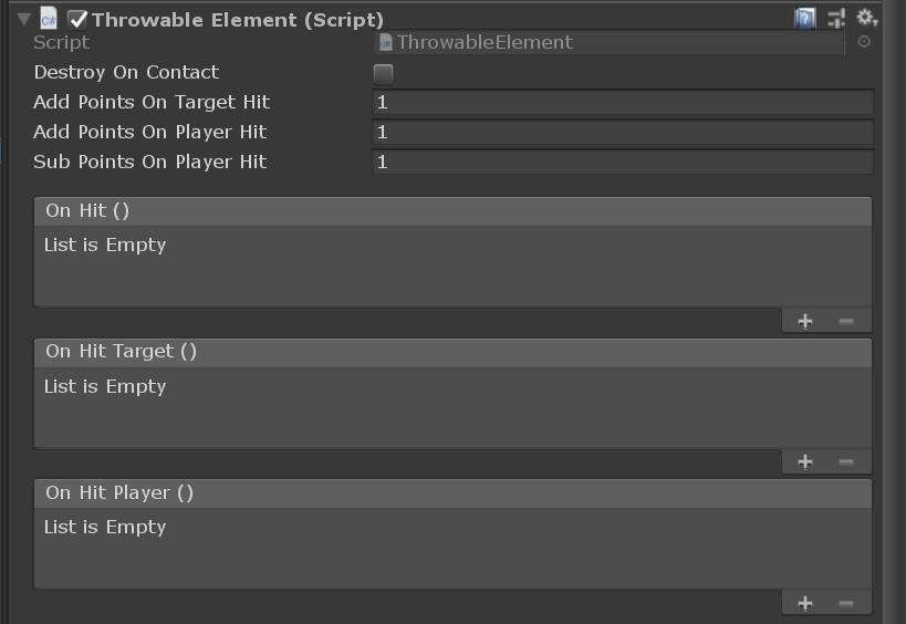 ThrowableElement component
